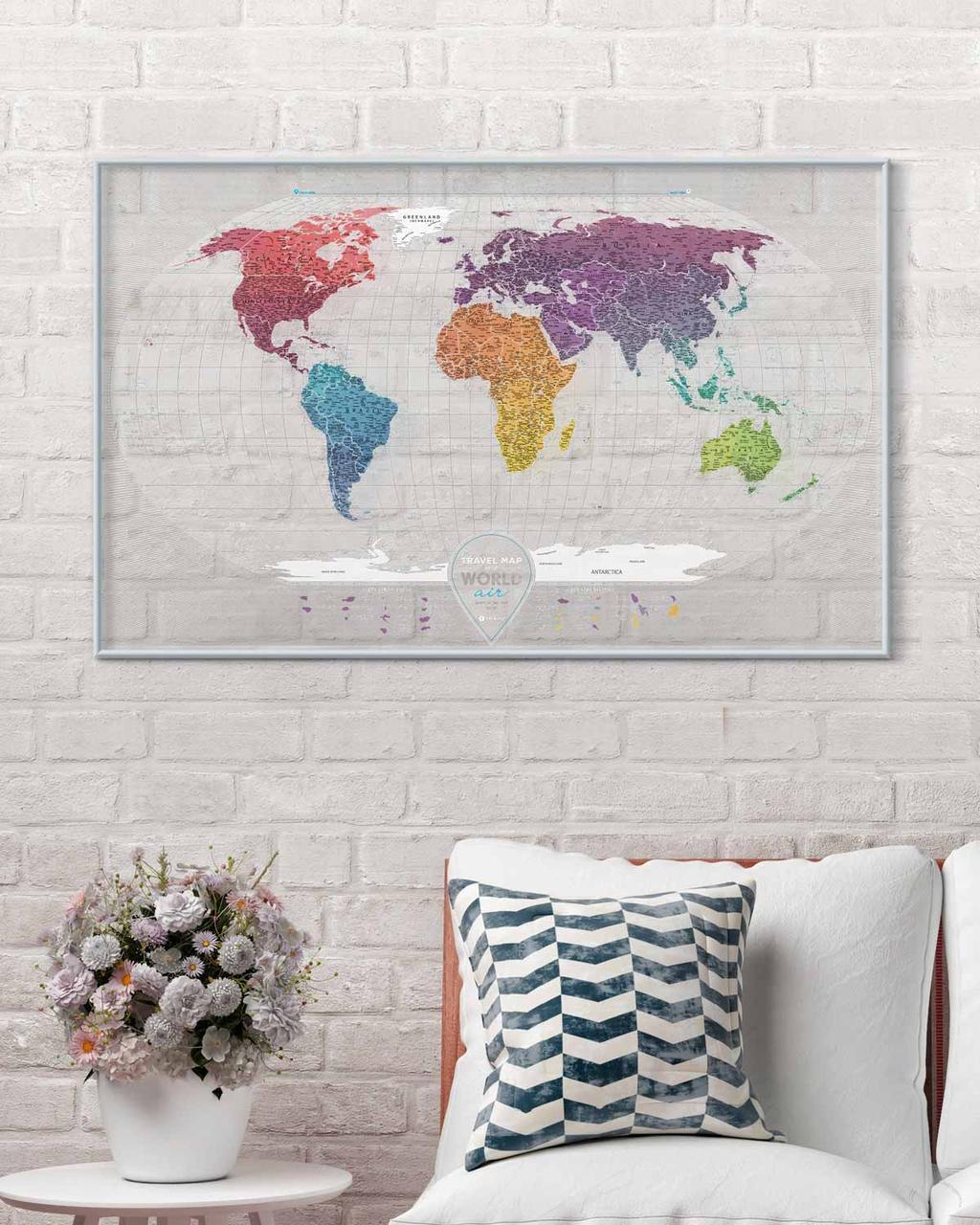 Скретч Карта Travel Map AIR World