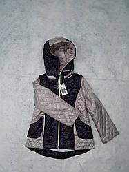 Демисезонная куртка-жилетка для девочки