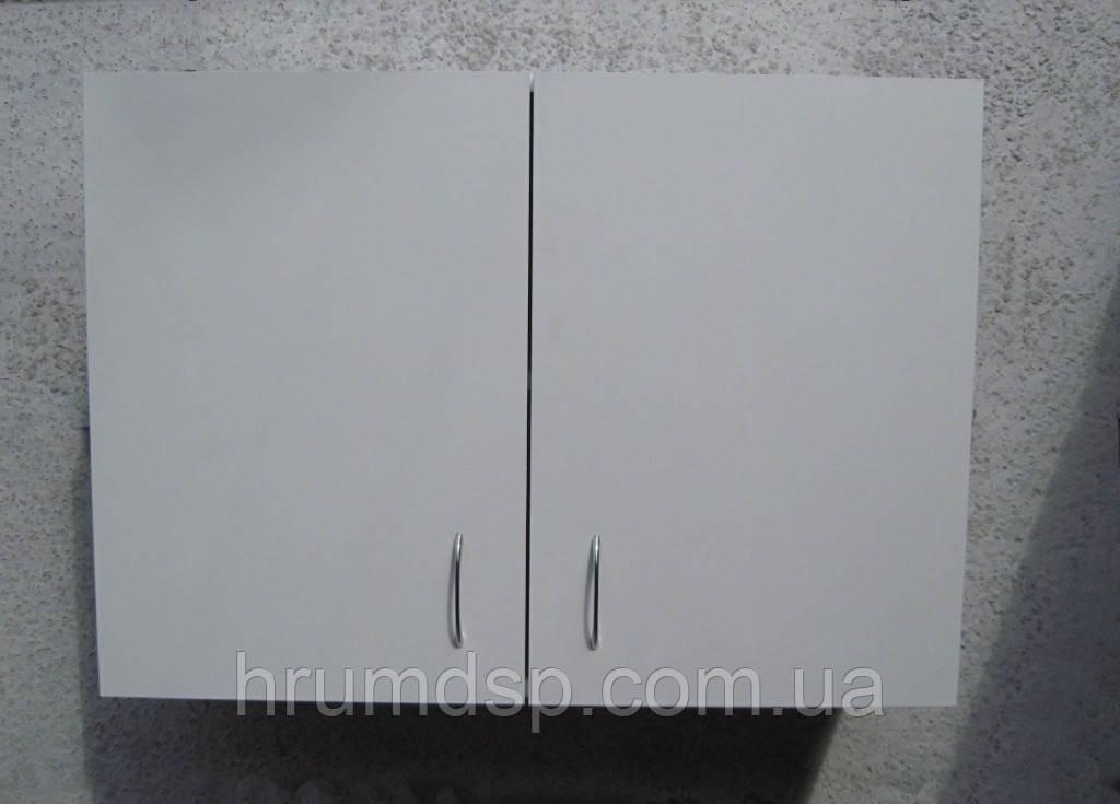 Шкафчик навесной 80х60х30 с петлями (белый)