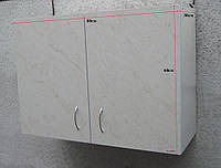Шкаф навесной 80х60х30 с петлями (Карара), фото 1