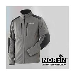Куртка флісова Norfin GLACIER GRAY