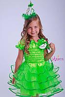 Карнавальный костюм зеленое Яблоко для девочки, фото 1