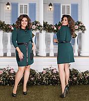 Женский костюм двойка кофта+юбка большого размера.Размеры:48-58.+Цвета, фото 1