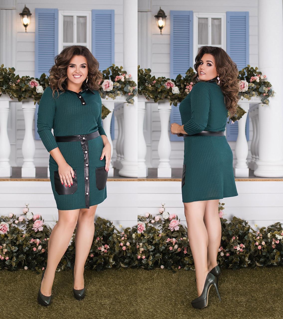 Женский костюм двойка кофта+юбка большого размера.Размеры:48-58.+Цвета