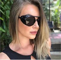 Солнцезащитные очки Fen 2671 черные, фото 1