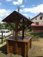 Виготовлення деревяних криниць, фото 1