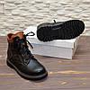Ботинки подростковые кожаные для мальчика, фото 3