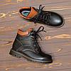 Ботинки подростковые кожаные для мальчика, фото 4