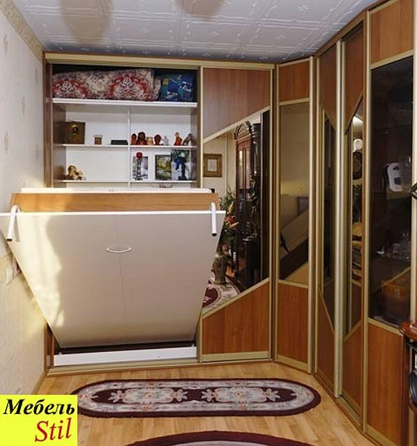 Шкаф-купе со шкаф-кроватью, фото 1