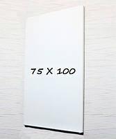 Доска магнитно-маркерная тонкая 100х75 безрамная Tetris