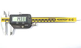 Штангенциркуль прецизионный ШЦЦПУ-150BT (±0,01 мм; IP-67; блютуз) с регулировкой нагрузки нажима