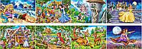 Пазлы Mini Любимые сказки 8 видов на 54 элемента Сastorland