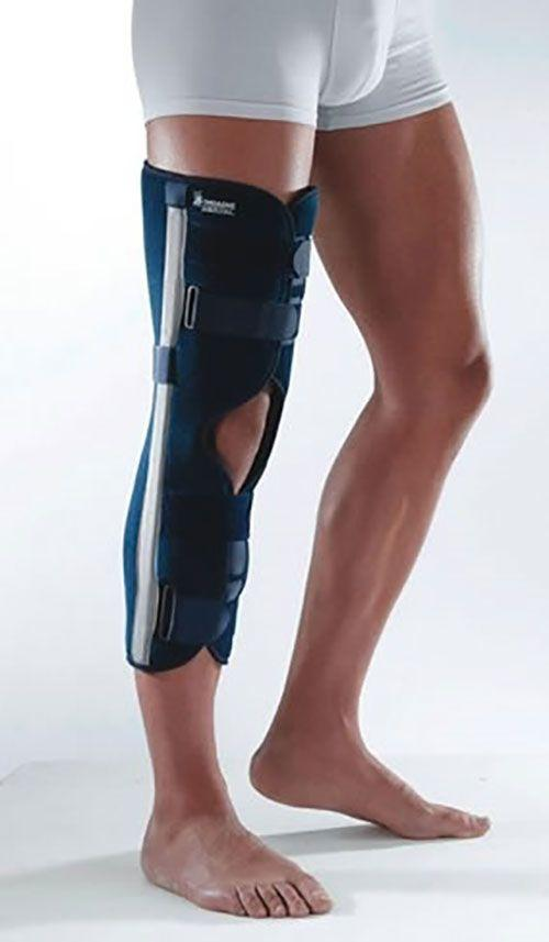 Тутор на коленный сустав Hopital Thuasne, с углом сгибания 0 (60 см), M