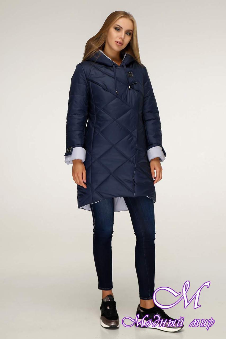Женская стильная зимняя куртка (р. 42-52) арт. 1201 Тон 18