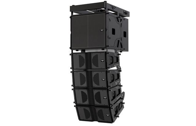 Активный 2-х полосный элемент линейного массива AudioFocus ARES 8A HQ