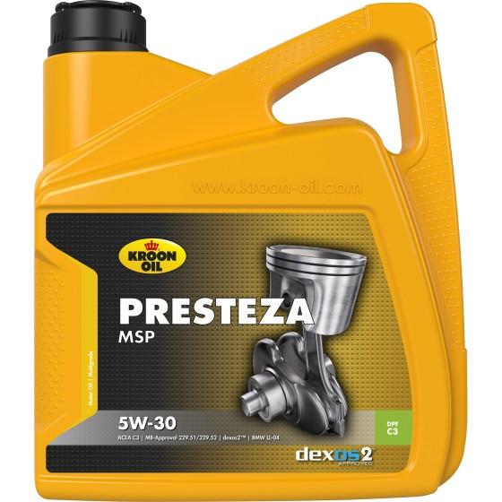 Моторное масло KROON OIL PRESTEZA MSP 5W-30 4л (KL 35137)