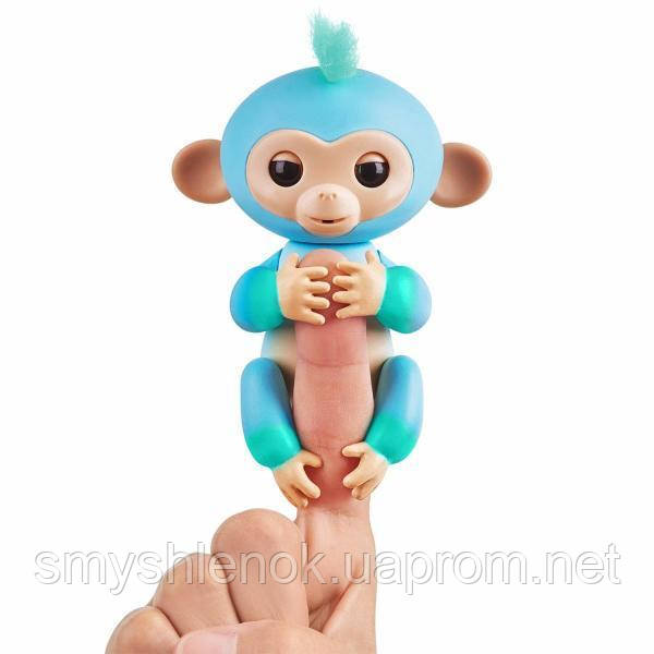 Интерактивная ручная обезьянка Чарли WowWee Fingerlings. Оригинал.