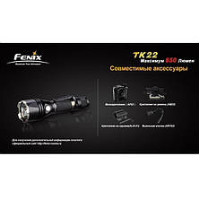 Фонарь Fenix TK22 Cree XM-L (U2), фото 3