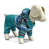 Комбинезон дождевик для собак Орнамент, фото 1