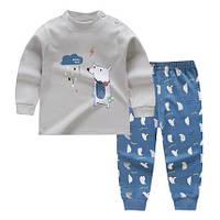 Пижама для мальчика  Собачка Baby's на рост 73 см./80 см