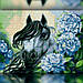 Алмазная вышивка The Wortex Diamonds Лошадь в цветах  (TWD20031), фото 2