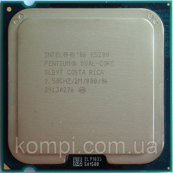 Процессор Intel Pentium E5200  S775