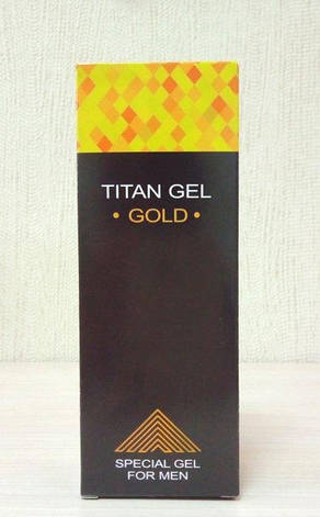 Titan Gel Gold - Гель-лубрикант для потенции (Титан Гель Голд), фото 2