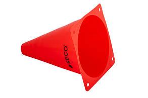 Тренировочный конус SECO 18 см цвет: красный