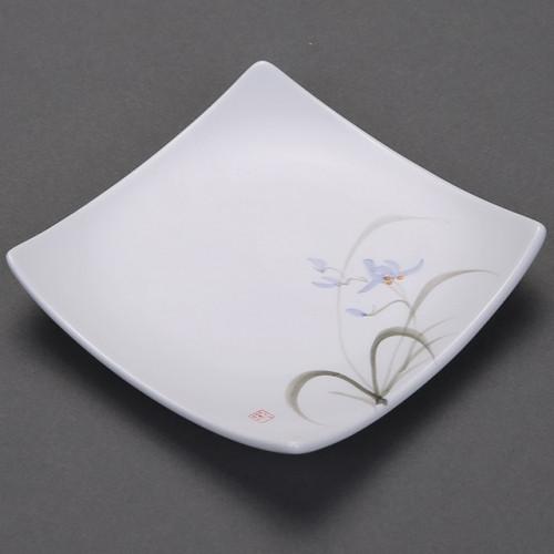 """Чайное блюдце керамическое """"Орхидея"""""""