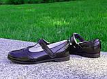Туфли черные лаковые для девочек, фото 4