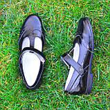 Туфли черные лаковые для девочек, фото 5
