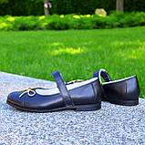Туфли школьные для девочек из натуральной кожи, фото 6