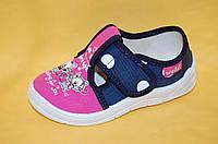 Детские Тапочки Waldi Украина 05180 Для девочек Розовый размеры 24_30, фото 1
