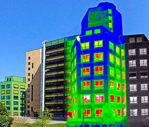 Аудит тепловых потерь многоэтажных жилых домов
