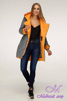Зимняя куртка женская (р. 42-52) арт. 1201 Тон 860, фото 2