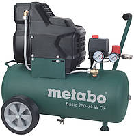 Компресор безмасляний Basic 250-24 W OF Metabo