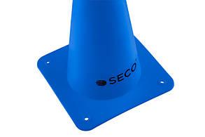 Тренировочный конус SECO 15 см цвет: синий