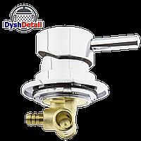 Смеситель для гидромассажной ванны и скрытого монтажа (ДЖ-6102) встраиваемый в изделие
