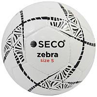 М'яч футбольний SECO Zebra розмір 5