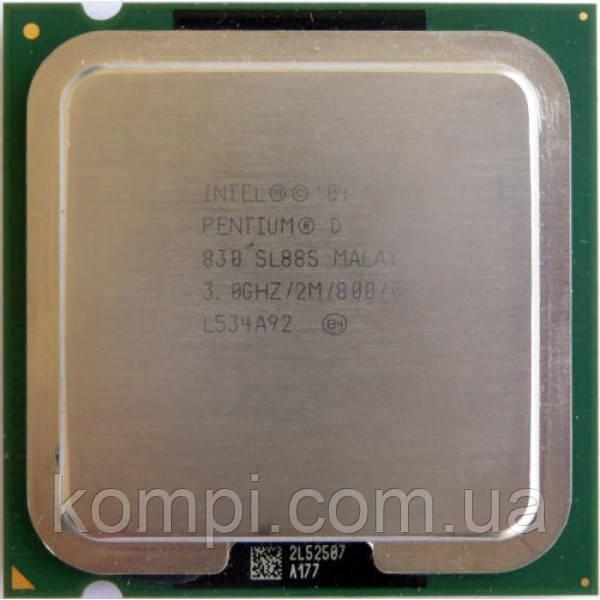Процессор Intel Pentium D 830   S775