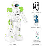 Програмований робот-компаньйон JJRC R11 Cady Wike біло-зелений (JJRC-R11G), фото 6