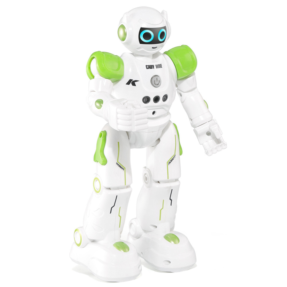 Програмований робот-компаньйон JJRC R11 Cady Wike біло-зелений (JJRC-R11G)