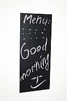 Меловая магнитная табличка на холодильник 10 см х 15 см. Доски на холодильник. Грифельная доска черная