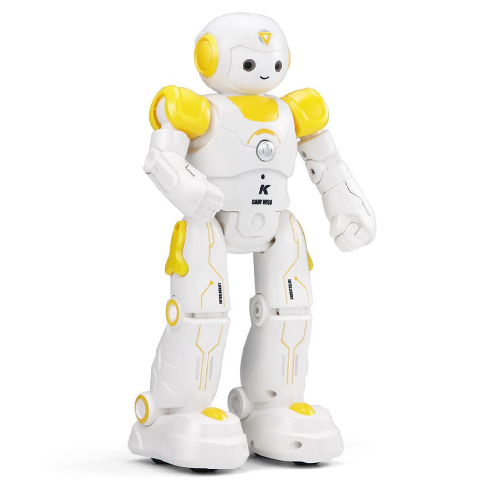 Программируемый робот-компаньон JJRC R12 Cady Wiso бело-жёлтый (JJRC-R12Y)