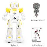 Программируемый робот-компаньон JJRC R12 Cady Wiso бело-жёлтый (JJRC-R12Y), фото 6