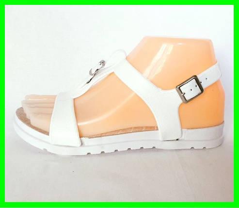 Женские Сандалии Босоножки FASHION Летняя Обувь White ( 40 размер ), фото 2
