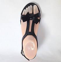 Женские Сандалии Босоножки J.B.P. Летняя Обувь Чёрные (размеры: 36,37,40), фото 3