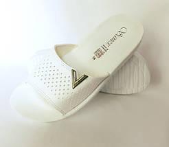 Женские Тапочки Шлёпанцы SANEX Сланцы Вьетнамки Белые (размеры: 36), фото 2