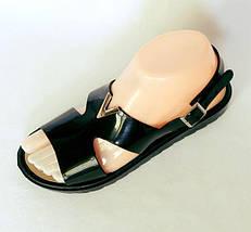 Женские Сандалии Босоножки Чёрные Летняя Обувь (размеры: 36,37,38,39,40,41), фото 3