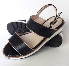 Женские Сандалии Босоножки Летняя Обувь на Танкетке Платформа (размеры: 36,37,38,39,40,41), фото 3